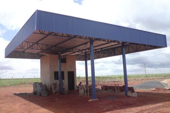 WD Agroindustrial - Posto abastecimento